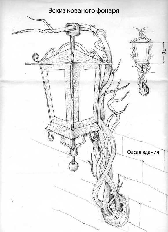 Светильник своими руками и эскизы