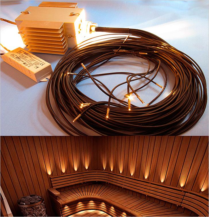 Светодиодное освещение для бани