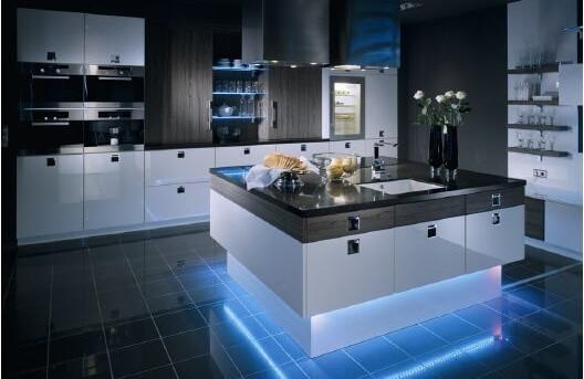 Какой должна быть подсветка на кухне