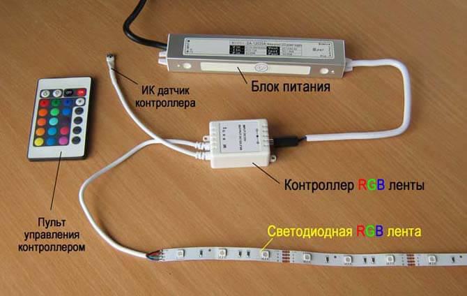 Что такое контролеер для ленты RGB