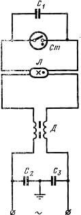 Схема подключения газоразрядных лампочек
