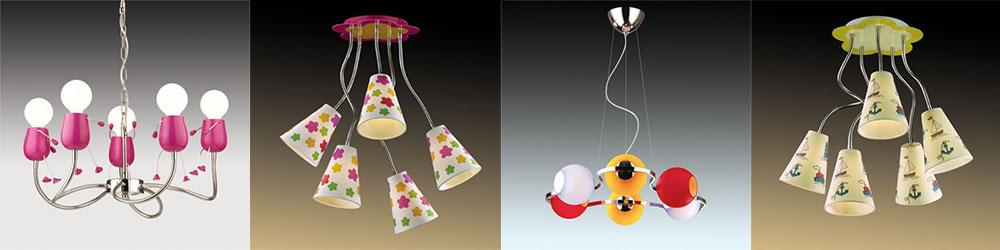 Необычные потолочные светильники