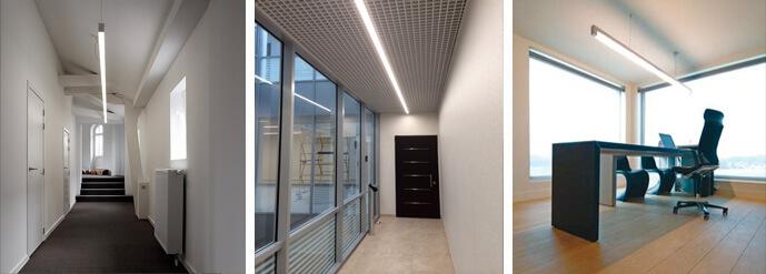 Использование светильников в офисах и на производстве