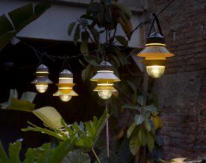 Подвесное декоративное освещение