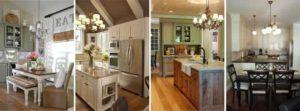 Выбираем классические подвесные люстры для кухни
